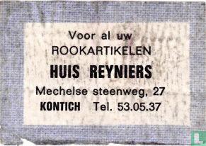 Rookartikelen Huis Reyniers