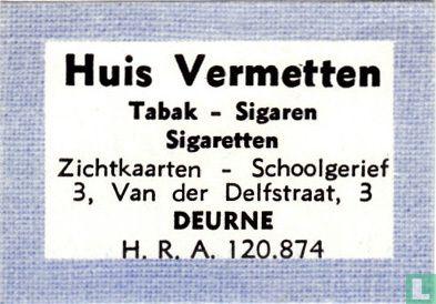 Huis Vermetten - Tabak - Sigaren - Afbeelding 1