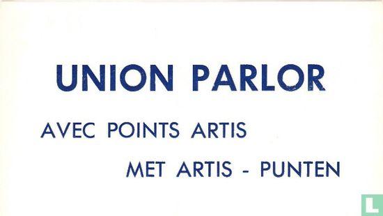 Union Parlor avec points Artis - met Artis punten