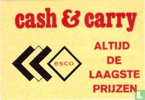 cash & carry esco