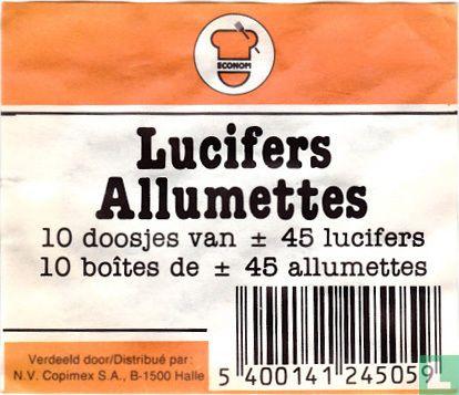 Lucifers - Allumettes - Econom