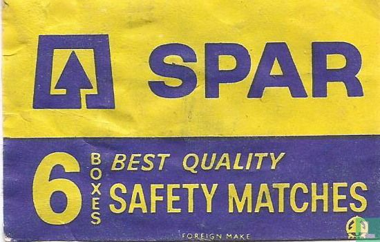 Spar best quality safety matches