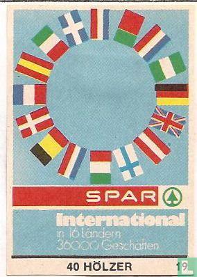 Spar - International in 16 Ländern 36000 Geschäften