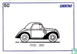 Fiat 500 - 1936