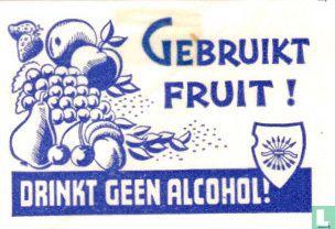 Gebruikt fruit!