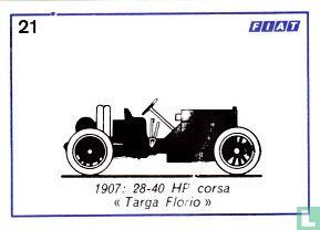 """Fiat 28-40 HP corsa """"Targa Florio"""" - 1907"""