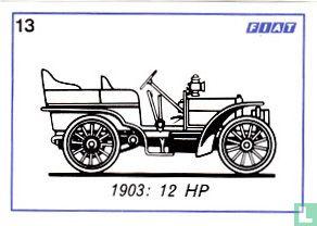 Fiat 12 HP - 1903