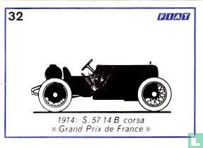 """Fiat S. 57 14 B corsa """"Grand Prix de France"""" - 1914"""