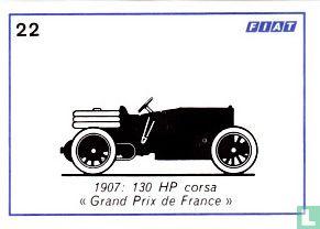 """Fiat 130 HP corsa """"Grand Prix de France"""" - 1907"""