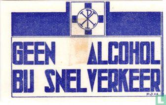 Geen alcohol bij snelverkeer