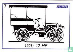 Fiat 12 HP - 1901