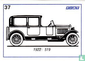 Fiat 519 - 1922