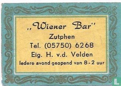 Wiener Bar - H.v.d.Velden