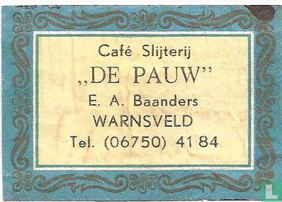 Café Slijterij De Pauw