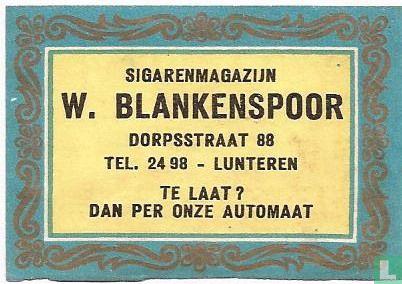 Sigarenmagazijn W.Blankenspoor