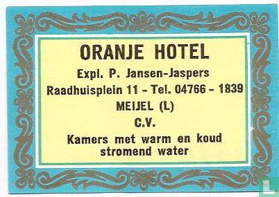 Oranjehotel - P.Jansen
