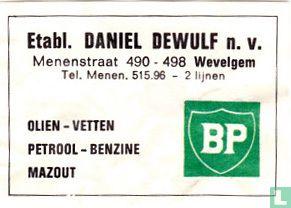 Etabl. Daniel Dewulf - Olien - vetten