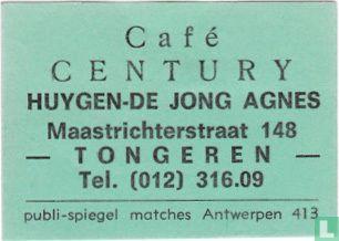 Café Century - Huygen-De Jong Agnes