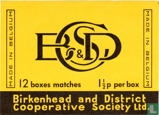 BCSD - Birkenhead and District Cooperative Society