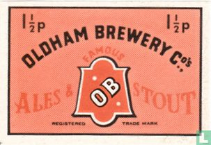 Oldham Brewery Ales & Stout - 1 1/2p