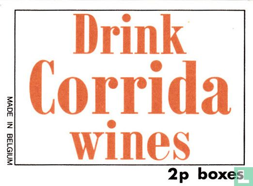 Drink Corrida wines