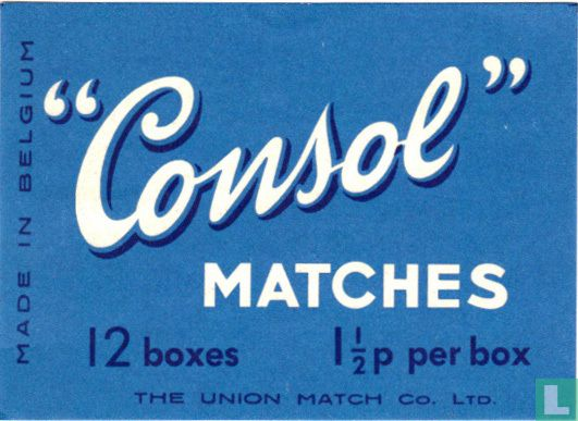 """""""Consol"""" matches"""