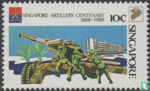 Singapore - 100 years of artillery