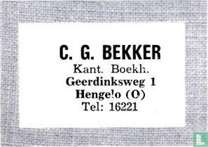 C. G. Bekker - Kant. Boekh.