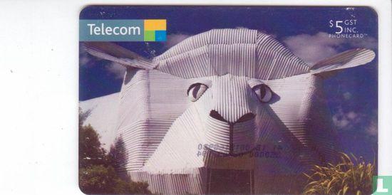 Telecom New Zealand - Big Sheep Wool Gallery