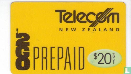 Telecom New Zealand - 2Go Prepaid