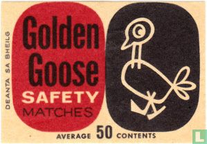 Golden Goose safety matches