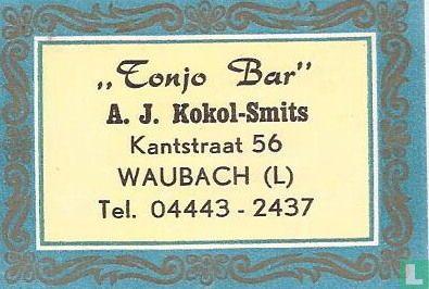 Tonjo Bar - AJ Kokol-Smits