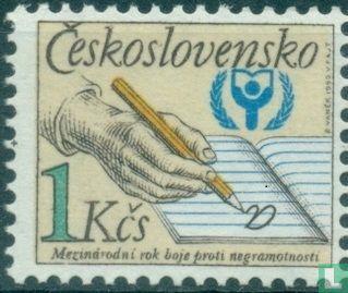 Tsjechoslowakije - Jaar van de alfabetisering