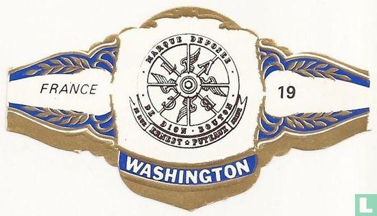 Washington - MARQUE DEPOSEE L' A B C DE DION BOUTON 12 RUE ERNEST PUTEAUX  SEINE - FRANCE