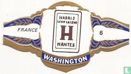 Washington - HARRIS LEON LAISNE H NANTES - FRANCE