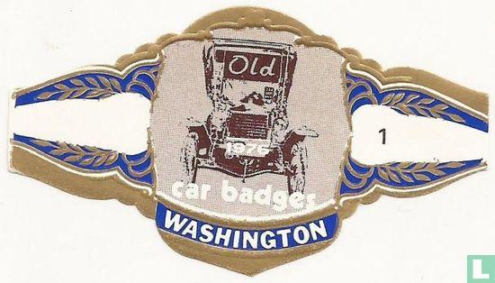 Washington - Old car badges
