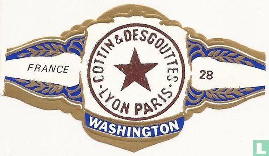 Washington - COTTIN & DESGOUTES . LYON PARIS. - FRANCE