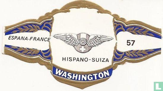 Washington - HISPANO - SUIZA - ESPANA-FRANCE