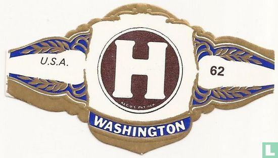 Washington - H  REG US PAT DEP.- U.S.A.