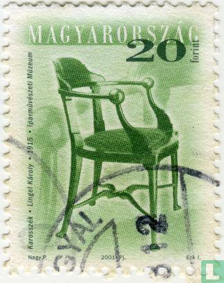 Ungarn - Antiker Stuhl