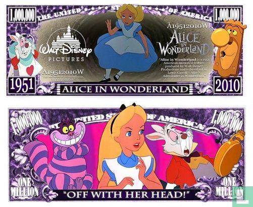 Curiosa - Alice in Wonderland dollar bill