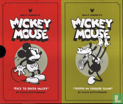 Mickey Mouse - The Floyd Gottfredson Library Volume 1 + 2 Box