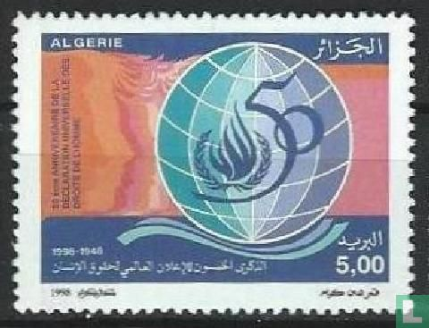 Algerije - Universele Verklaring van de Rechten van de Mens