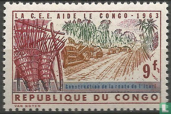 Congo-Kinshasa [COD] (Zaïre) - European aid to Congo