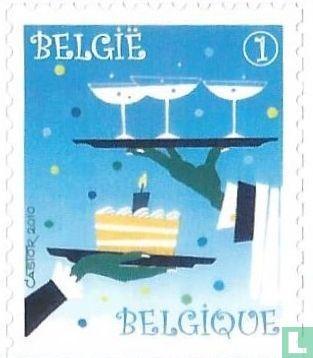 België [BEL] - Champagne en pronkgebak