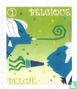 België [BEL] - Serpentines, confetti en toeters