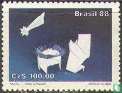 Brazilië [BRA] - Kerstmis - Origami