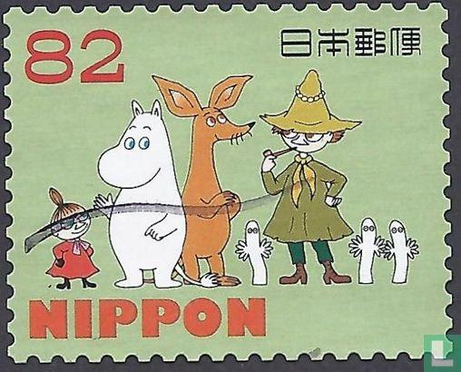 Japan [JPN] - Groetzegels Moomin