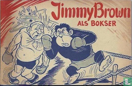 Jimmy Brown - Jimmy Brown als bokser
