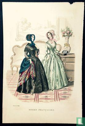 Deux femmes au Salon - Février 1849 - Bild 1